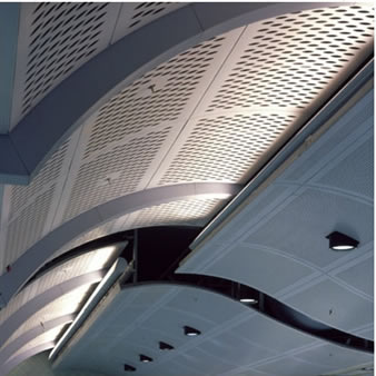 Anodized Aluminum Expanded Metal Mesh For Roof And Wall