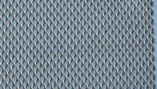 Aluminum Expanded Metal Wall And Roof Cladding Panels With